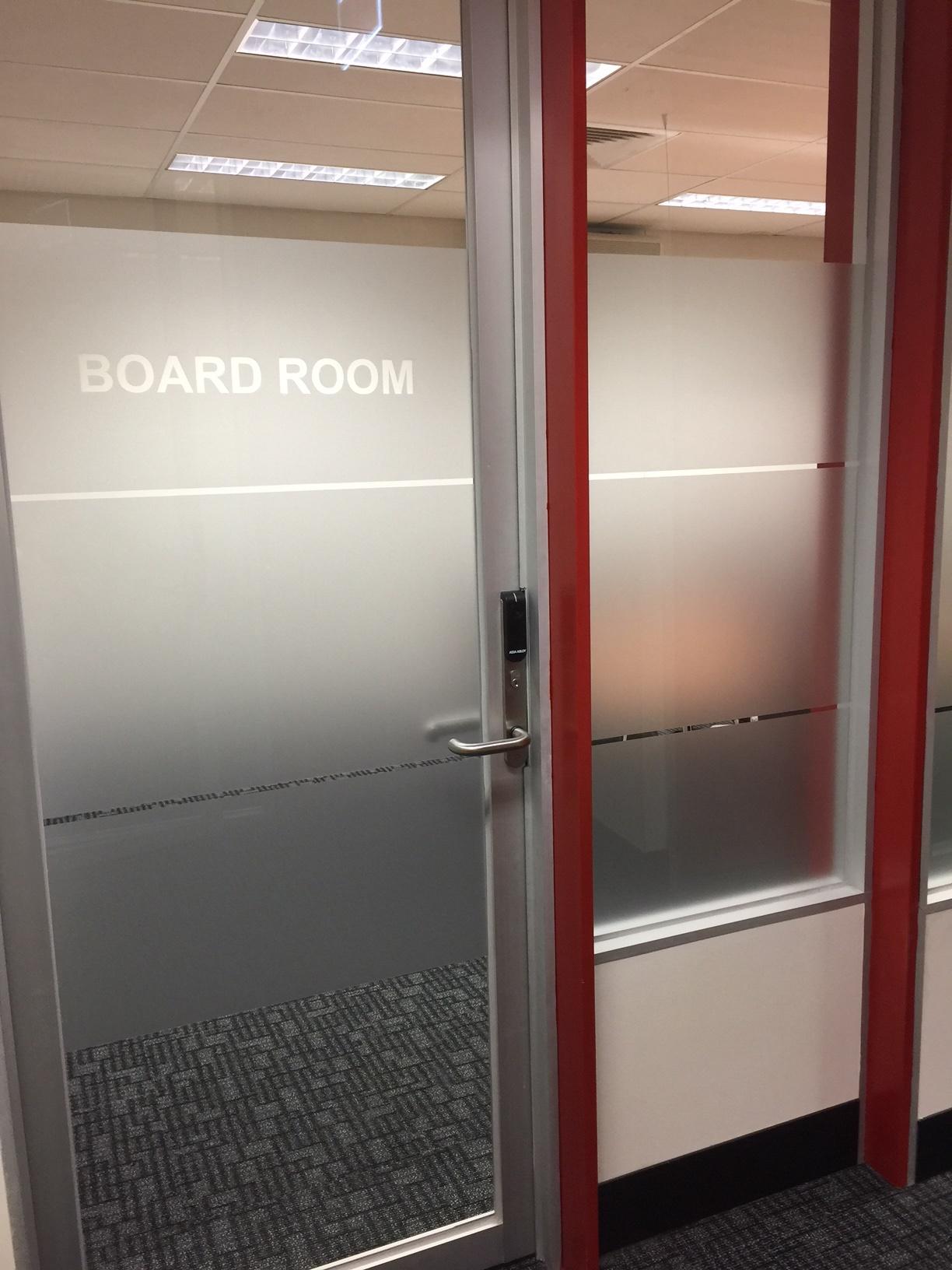 Boardroom Entry